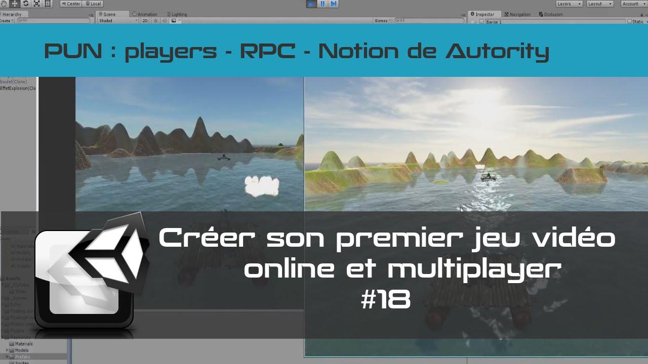 [TUTO Unity3D FR] Photon - Jeu en réseau multijoueurs #18- RPC - players