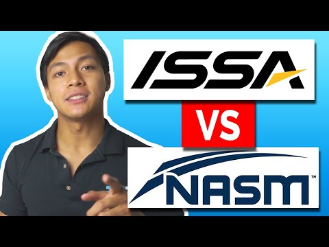 ISSA vs NASM - Which Certification Should You Choose in 2021 ...