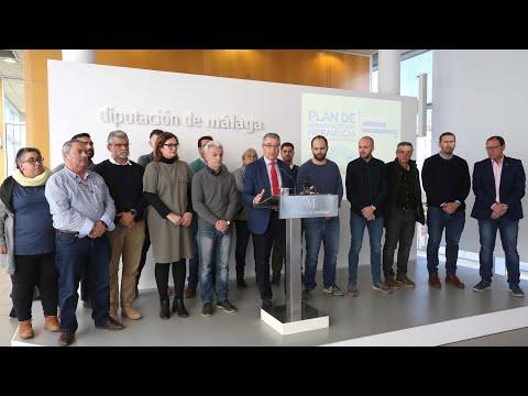 Firma del convenio para la mejora de las infraestructuras hidráulicas en la comarca de Antequera