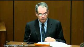 Conrad Murray Trial   Day 10, October 11, 2011   Dr. Christopher Rogers (2 Of 13)