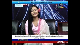 ROSY HEISNAM On Manung Hutna 12 May 2018