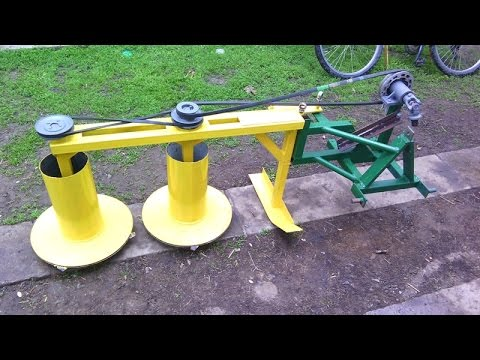 Homemade rotary mower
