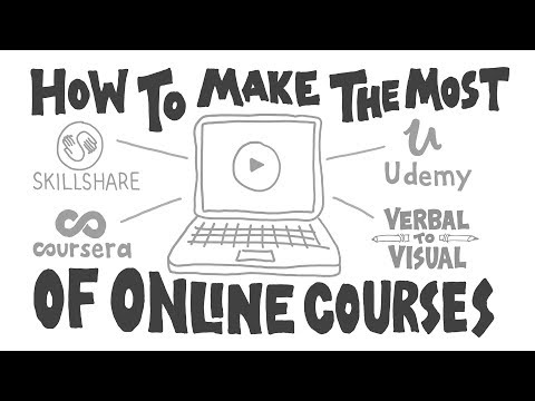 How to Make the Most of Online Courses