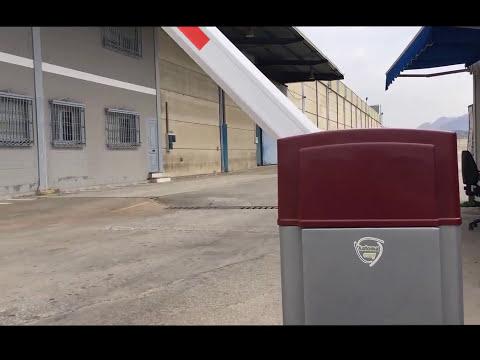 Moracle Cerradura De Estacionamiento a distancia para Autos DC 6 V Barreras para Parking Autom/ática Barrera de Estacionamiento a 15 m de Distancia de Control El/éctrica 4 s