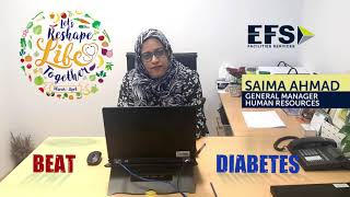 EFS' Wellness Month – Beat Diabetes