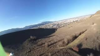 """First crash then fly ¯\_(ツ)_/¯ 5"""" quadcopter fpv flight with insta360 GO"""