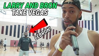 We Were At Bronny James' Game With LeBron & Quavo! Behind The Scenes With Overtime Larry!