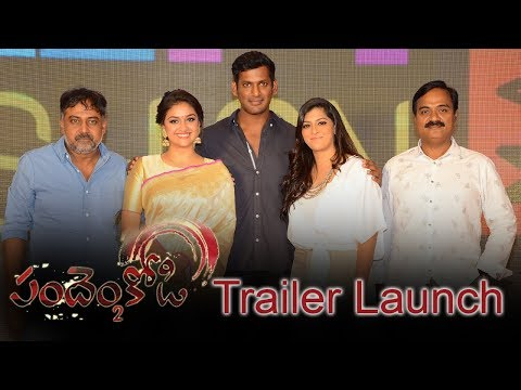 Pandem Kodi 2 Movie Trailer Launch Event