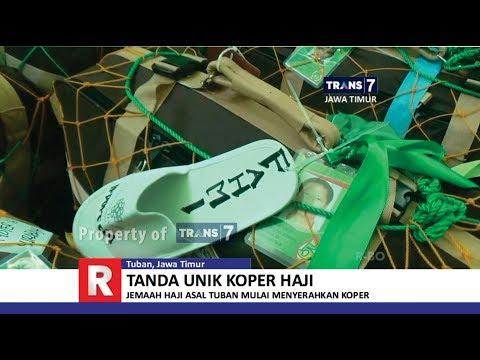 TRANS7 JAWA TIMUR - Unik!! Sandal Bayi Digantung di Koper Jemaah Haji