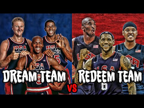 WHAT IF THE 1992 DREAM TEAM PLAYED THE 2008 REDEEM TEAM?