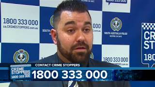 Can you help SA Police solve this weeks featured Crime Stoppers South