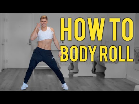 How To Body Roll, Chest Roll and Hip Roll (EASY and FAST)