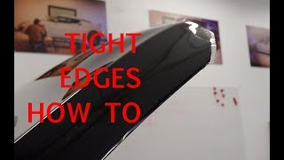 Cutting and Edge Wrapping PPF | How To Paint Protection Film