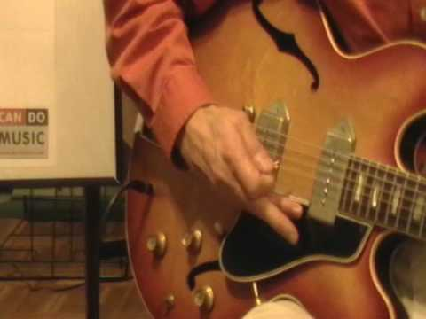 Take a complete 30 minute guitar lesson with Stan Munslow (Part 2 of 3).