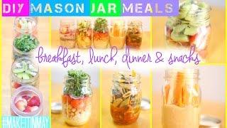 DIY Mason Jar Meals | #MAKEITINMAY 2015