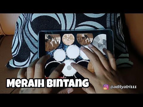 """""""Meraih Bintang"""" ASIAN GAMES 2018 - Ipad Drum Cover"""