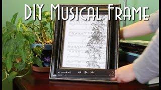 DIY Musical Frame