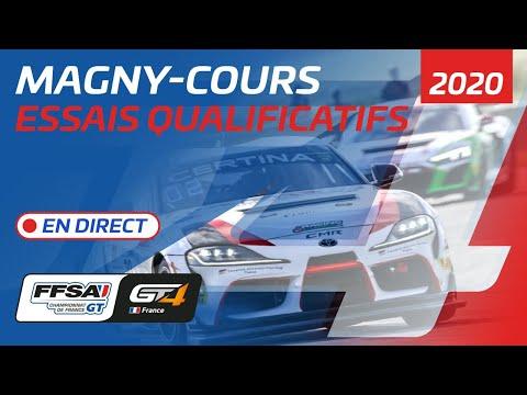 FFSAGT 2020 GTワールドチャレンジアメリカ マニクール・サーキットで開催される 予選ライブ配信動画