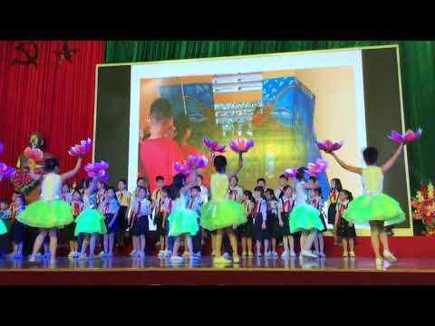 Câu lạc bộ Tiếng Anh trường Tiểu học số 1 Phố Ràng hát chào mừng ngày nhà giáo Việt Nam 20/11/2019