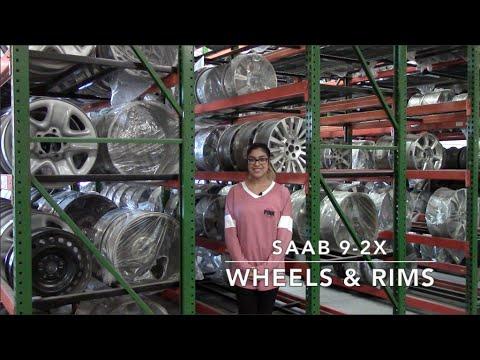 Factory Original Saab 9-2X Wheels & Saab 9-2X Rims – OriginalWheels.com