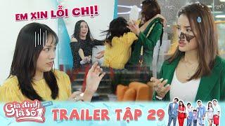 Gia Đình Là Số 1 Phần 3 | Trailer 29 Vui quá trớn cô gái quất nguyên bánh kem vào mặt sếp chằn