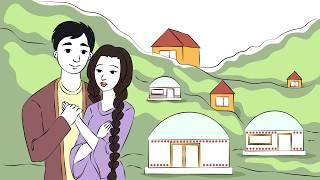 Поздравление с днём рождения с помощью анимационного ролика dooldevideo