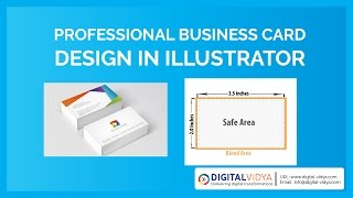 [Telugu Tutorial]Creative Business Card Design In Illustrator