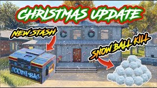 CoD BLACKOUT | **NEW** i GOT A SNOWBALL KiLL!!!! (NEW CHRiSTMAS BLACKOUT MAP UPDATE AND SNOWBALLS)