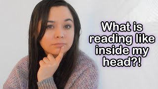 What reading is like in MY HEAD? How I imagine, process, and HEAR written information.