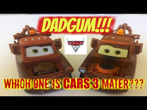 Disney CARS 3 Mater Vs. ORIGINAL CARS MATER Diecasts!  Spot The Differences?  Unboxing Cars 3 Mater.