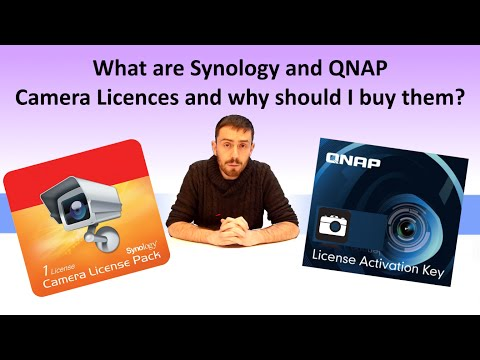 What are Synology and QNAP Camera Licences and why should I buy them