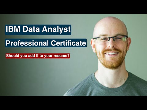 IBM Data Analyst Professional Certificate by Coursera | Is it Worth it ...