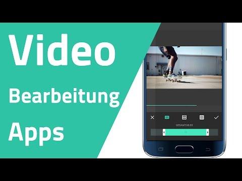 Die besten Apps für Videobearbeitung am Smartphone