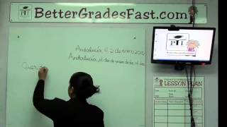 How to Write a Letter in Spanish | Spanish CXC lessons [RID: p9qAcUKAspesW5dU]