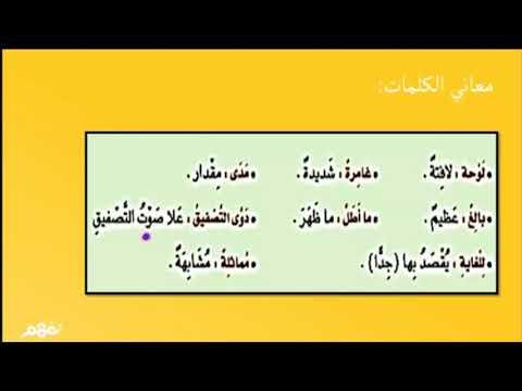 يوم لا ينسى - لغة عربية - للصف السادس الابتدائي -  الترم الأول - نفهم
