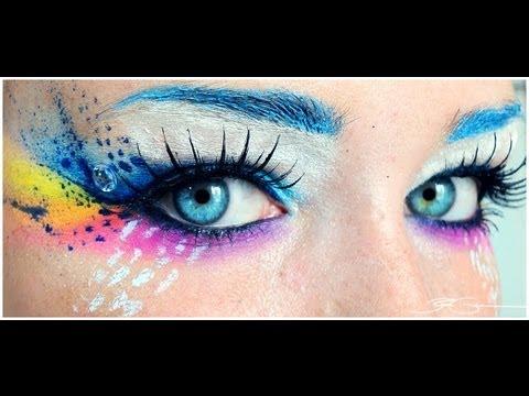 PAZZO ARCOBALENO ♥ Make-up FANTASIA per avere l'Arcobaleno negli occhi