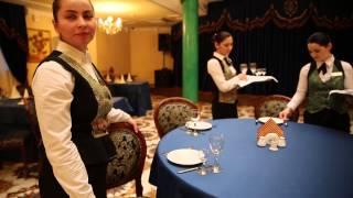 """Ресторан """"Эрмитаж"""" готовится к приему гостей"""