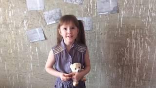 читает Анастасия Графеева,  8 лет (г. Пермь, Пермский край)