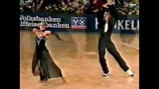 """Brian Torner & Brigitt Mayer World Showdance-""""Pink Panther""""-1992"""