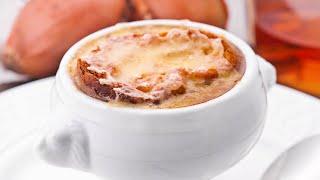ЛУКОВЫЙ СУП -  вкусный и ароматный французский Суп из Лука - простой рецепт - как приготовить дома