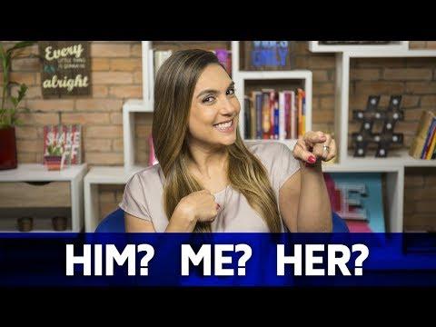 Me, him, her: como usar os object pronouns?