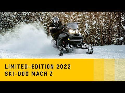 2022 Ski-Doo Mach Z 900 ACE Turbo R ES Ice Ripper XT 1.25 w/ Smart-Shox, w/ Premium Color Display in Rome, New York - Video 1