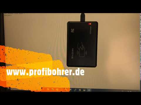 RFID card reader card reader contactless scanner (Windows & Linux)