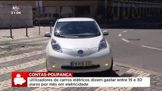 Contas-poupança sobre carros elétricos – SIC