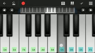 Pal Bhar -chaahunga reprise arijit singh.piano tutorial