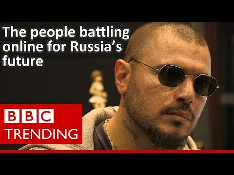 The People Battling Online For Russia's Future - BBC Trending