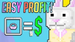 HOW TO EARN EASY PROFIT ON EASTER! - Growtopia