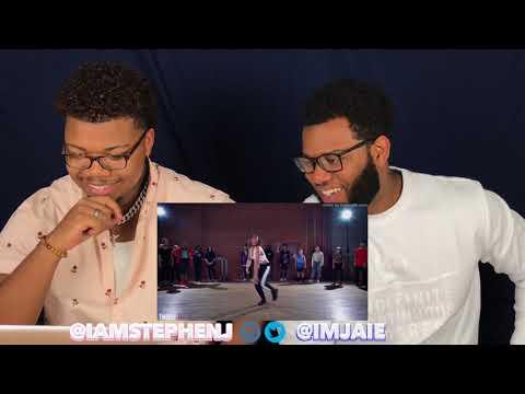 JADE CHYNOWETH   Chris Brown - Tempo   Choreography by Alexander Chung #TMillyTV #Dance   REACTION