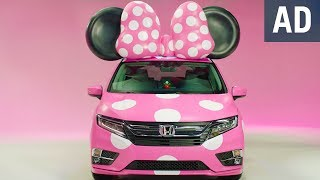 Unveiling the Minnie Van presented by Honda Odyssey | Disney
