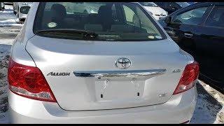 Авторынок2018, жесть, тащи её на сканер, этого не может быть, Toyota Allion 2012, 46тыс пробег